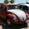 #0608 - 1970 (red beetle, after market exhaust, HIDs)