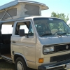 #2409 - 1987 (Vanagon Country Homes Camper Silver)