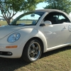 #2502 - 2006 New Beetle (New Beetle Convertible Harvest Moon Beige with black top and interior)