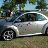#2505 - 2000 New Beetle (Silver with flames)