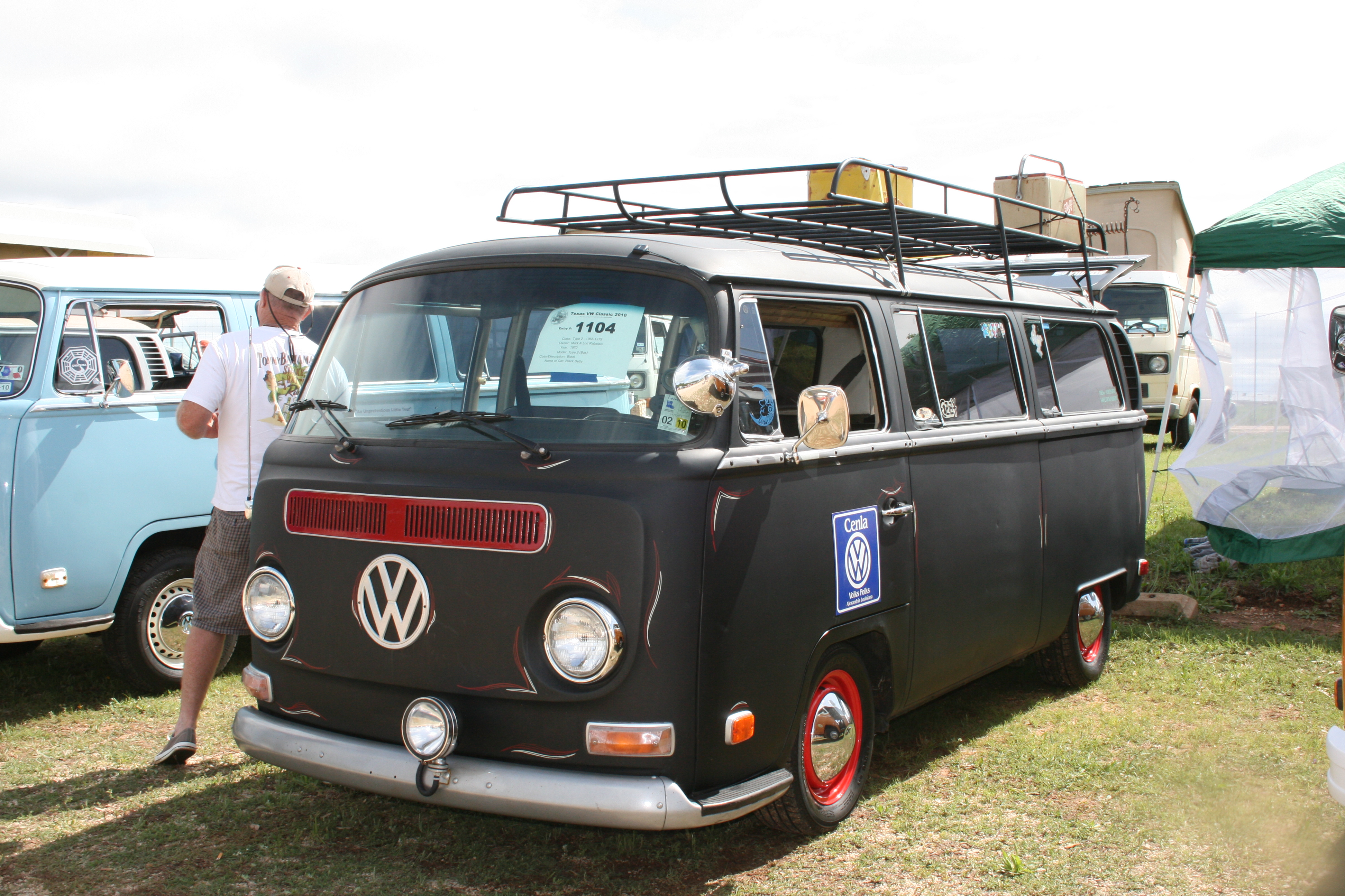 Black Betty (#1104) - Texas VW Classic