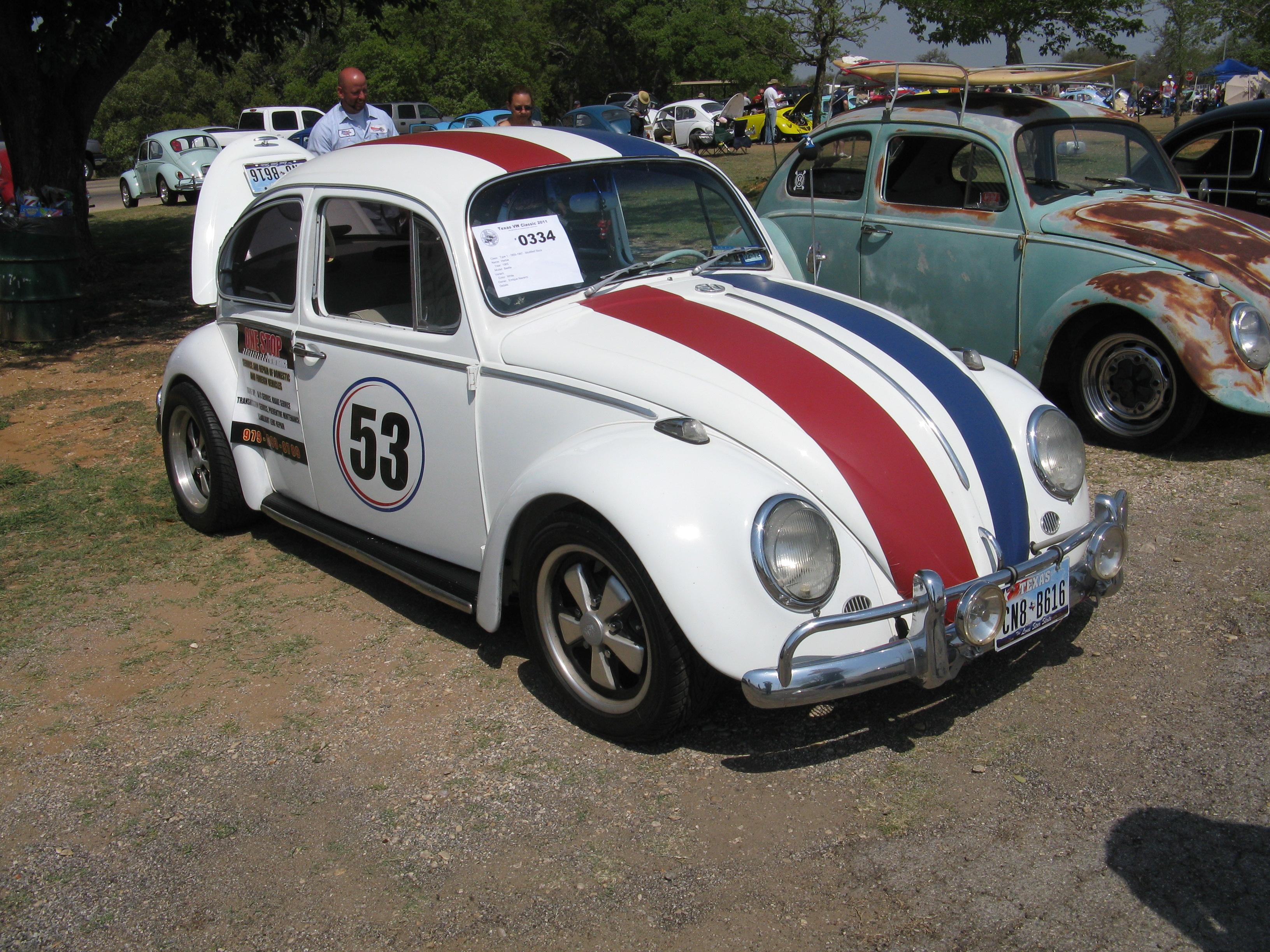 Herbie 0334 Texas Vw Classic