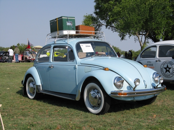 0504 1969 Light Blue Beetle