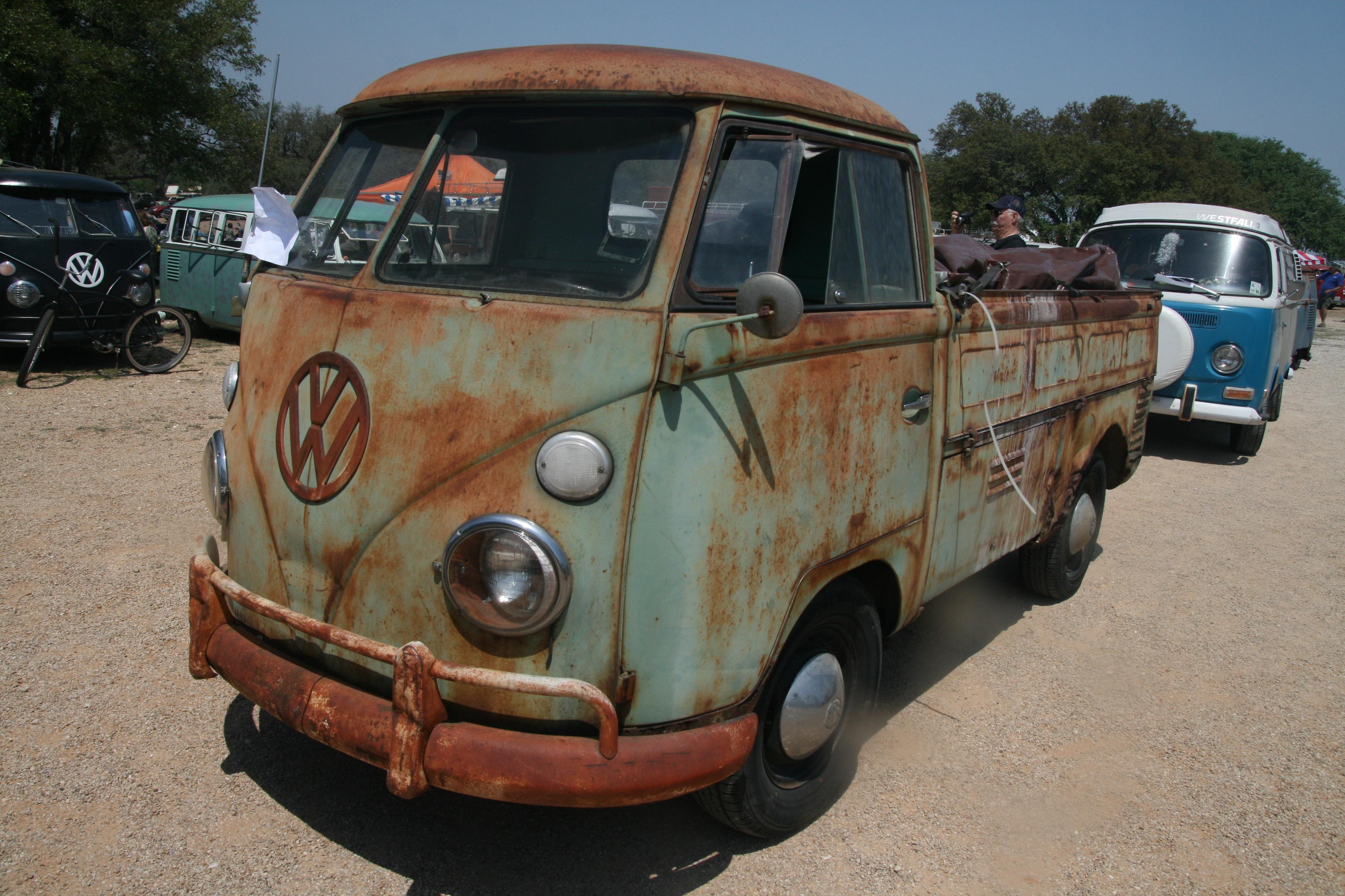 Rust Bucket 1411 Texas Vw Classic
