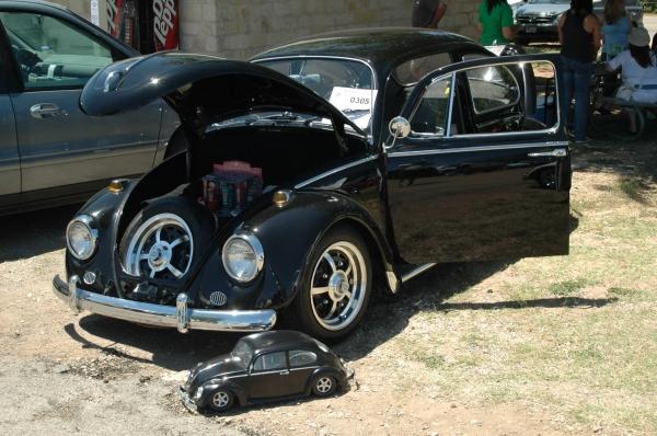 Little Black Bug 0305 Texas Vw Classic