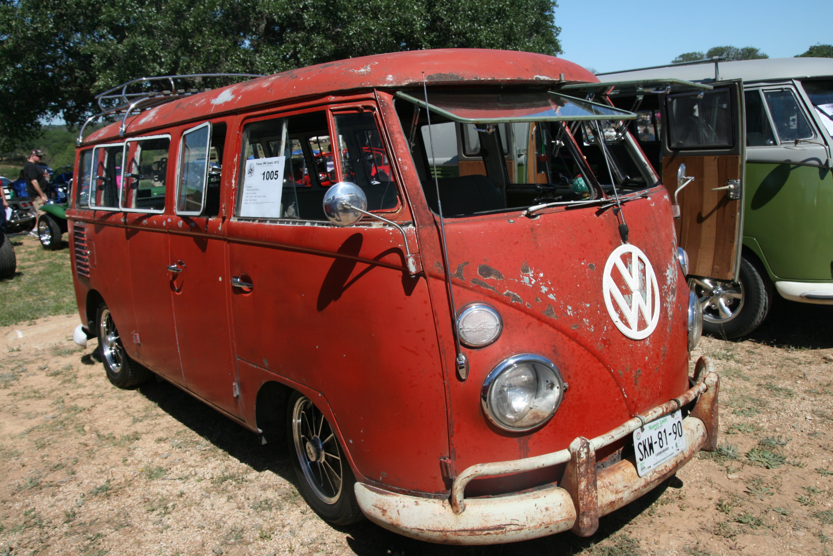 15 deluxe 1005 texas vw classic for 16 window vw bus for sale
