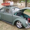 #0214 - 1963 military green Beetle