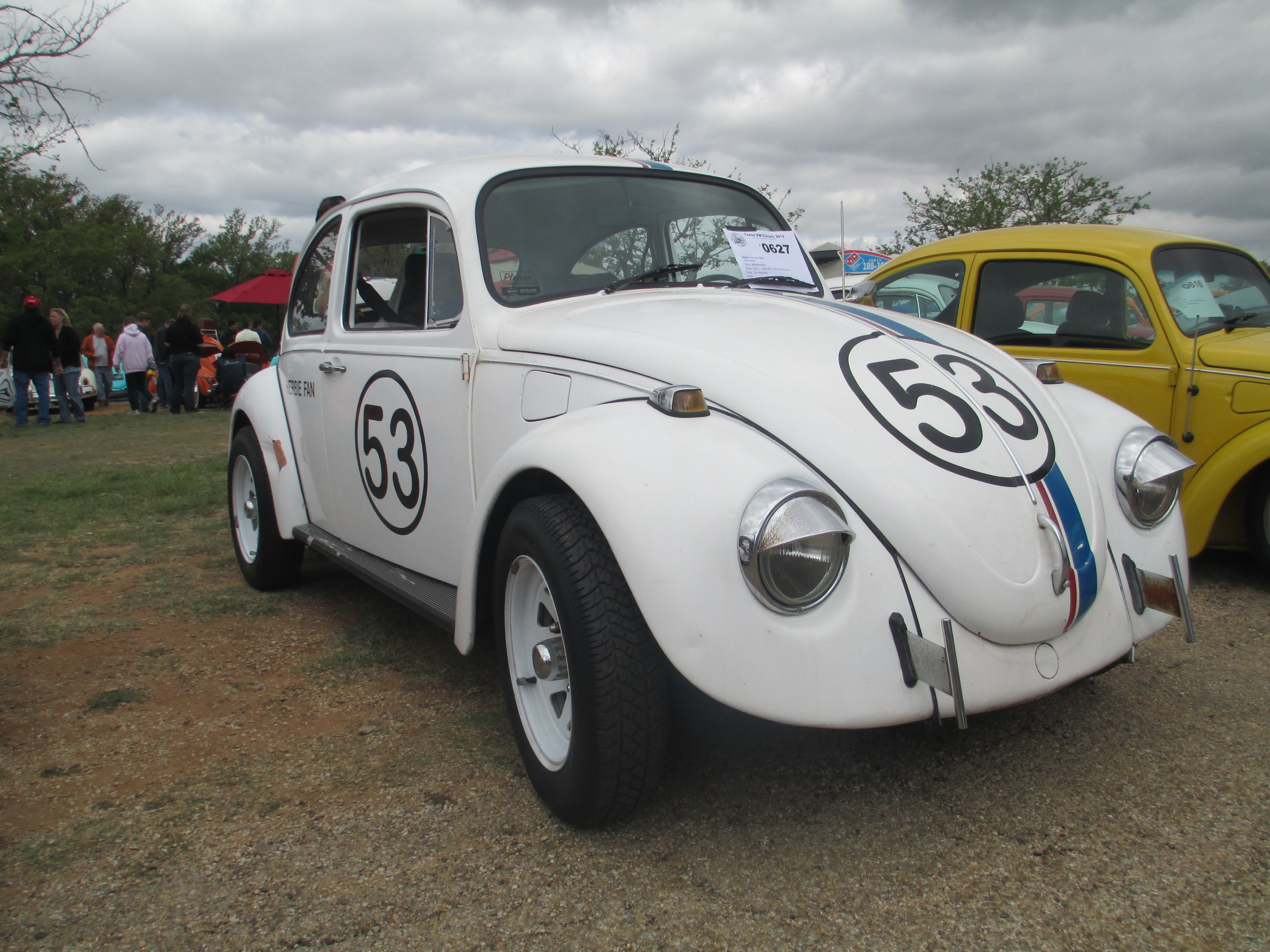 Herbie The Love Bug 0627 Texas Vw Classic