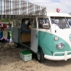 #1010 - 1966 Green & white Bus (Split Window)