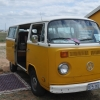 Creamsicle (#1107) - 1976 Orange Yellow Bus (Bay Window) (7 passenger bus)