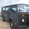 #1112 - 1978 Black Bus (Bay Window)