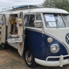 Nelly (#1209) - 1964 Blue/white Bus (Split Window) Camper (Sundial Camper)