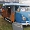 Love Bus (#1213) - 1963 Blue Bus (Split Window) Camper