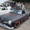 #1504 - 1974 BLACK Karmann Ghia (that that dirty black thing)