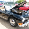 Mz Ghia (#1604) - 1973 Black Karmann Ghia Convertible