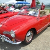 Marcella (#1606) - 1964 red Karmann Ghia Convertible