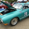 karmadillo (#2211) - 1970 green Karmann Ghia