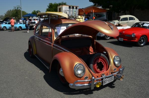 Iron Bug Man 0333 Texas Vw Classic