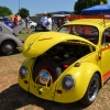 Bugzy (#0413) - 1966 yellow and red Beetle Single Cab