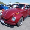 fire bug (#0804) - 1972 maroon/ with tan top Beetle - Late Model/Super Convertible