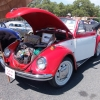 '69  Lil' Ms Buggzzyy (#0807) - 1969 Red & White Body With Black Top Convertible Beetle Convertible