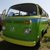 Cricket (#1301) - 1973 green. Two-Toned Bus - Bay Window Camper