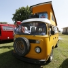 #1318 - 1976 chrome yellow Bus - Bay Window Camper