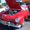 Rouge (#1606) - 1969 red with a white top Karmann Ghia Convertible