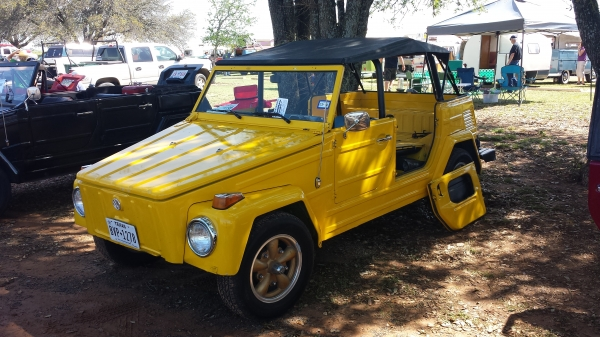 Irre (#1706) - 1973 Yellow Thing Convertible