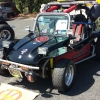 Texas Truggy (#2214) - 1967 Black / Red with a wood truck bed. Fiberglass Buggy Single Cab