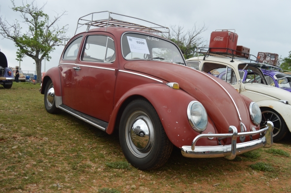 #0209 - 1965 Ruby Red Beetle