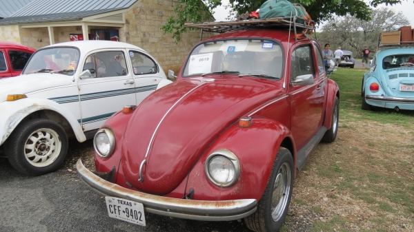 #0619 - 1969 Red Beetle