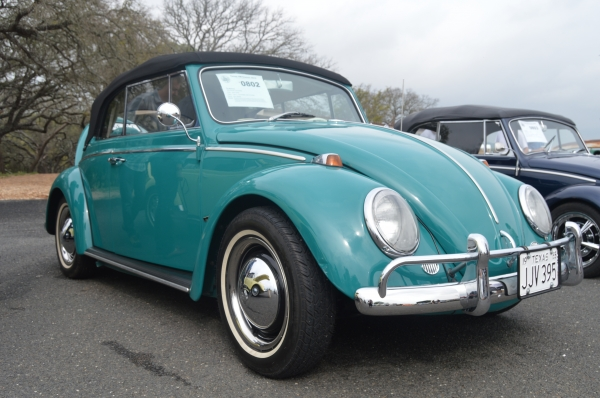 The Mistress (#0802) - 1965 Java Green Beetle Convertible