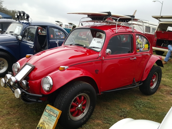 Kyness (#2202) - 1967 Red Beetle Baja