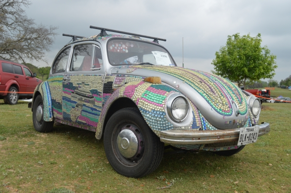 Bedazzled Bug (#2308) - 1971 Silver & Jewels Beetle - Late Model/Super