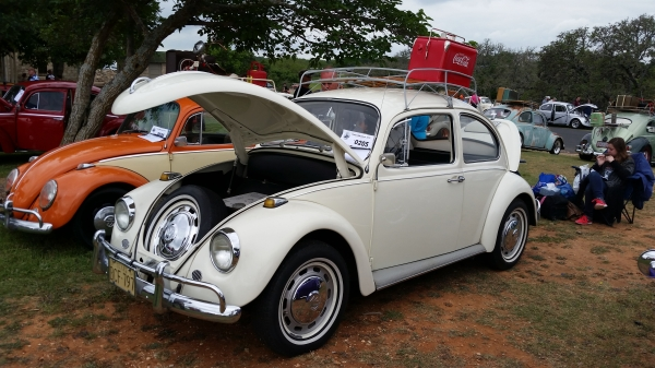 1 Owner (#0205) - 1967 White Beetle