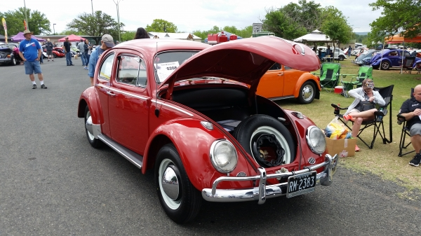 RUBY (#0208) - 1964 RUBY RED Beetle