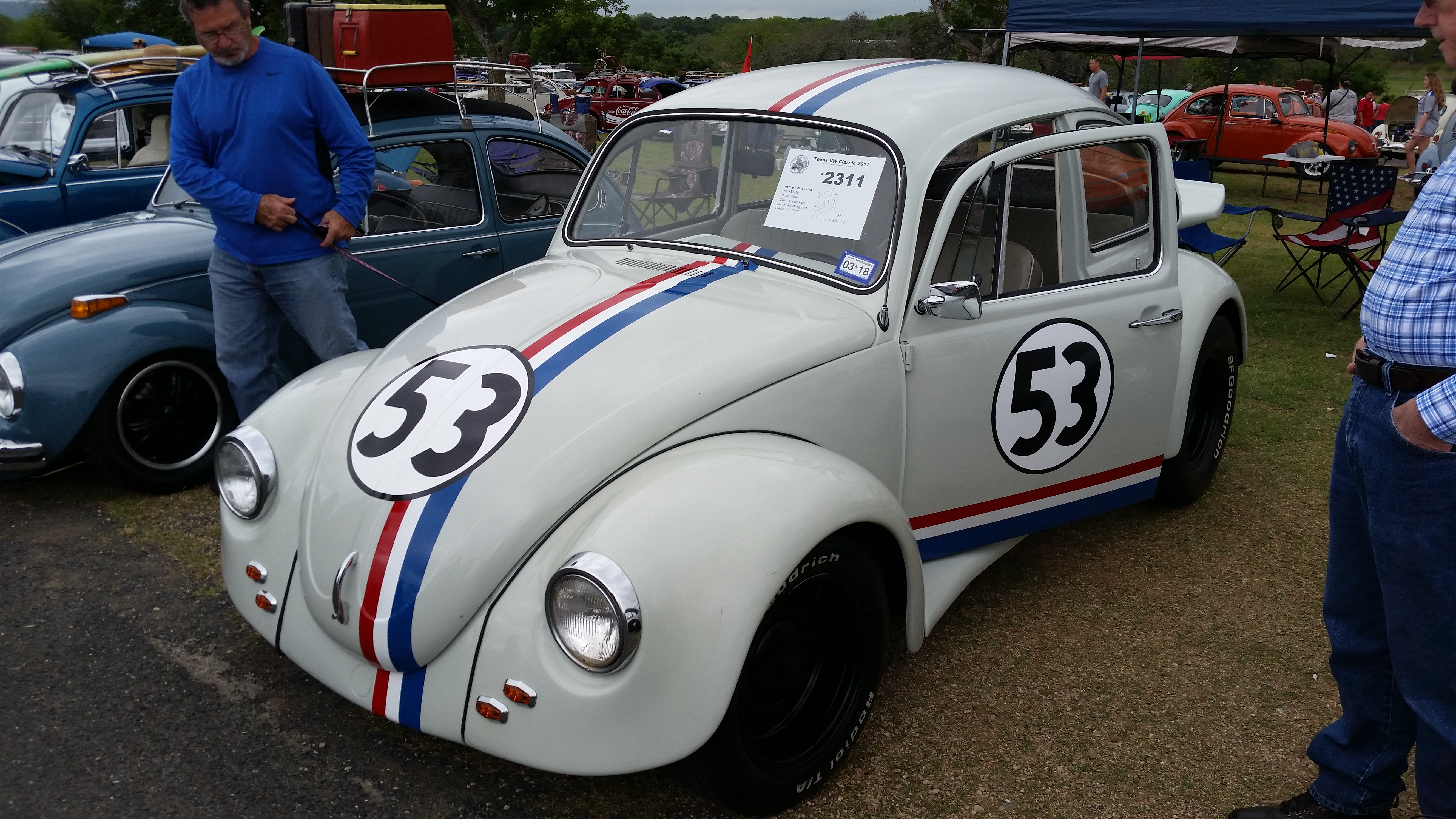 Herbie Fully Loaded (#2311) - Texas VW Classic