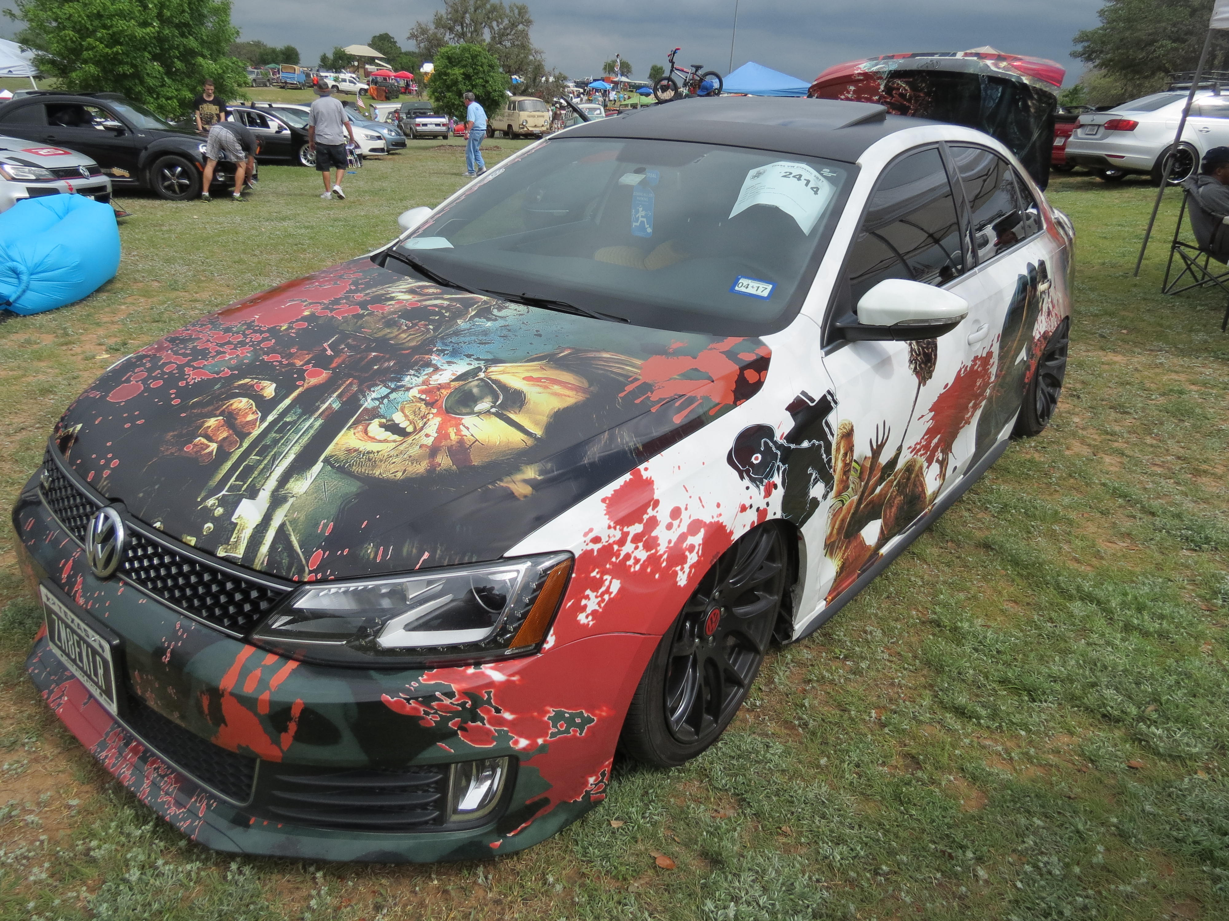 Zombie Killer 2414 Texas Vw Classic