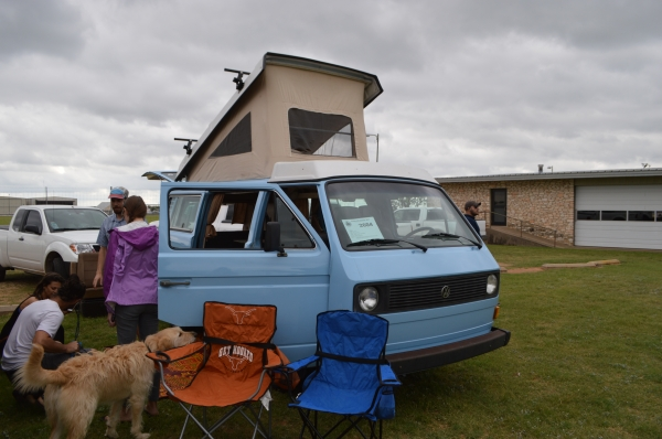 Skippy (#2604) - 1980 Powder Blue Vanagon
